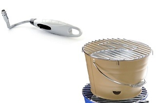 Bucket Braai and Flexi Electronic Braai Lighter for R299 Including Delivery (25% Off)