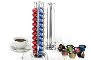 Fine Living Rotating Coffee Capsule Holder for R239 Including Delivery (32% Off)