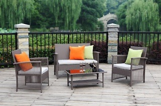 Four-Piece Outdoor Patio Furniture from R3 299 Including Delivery (Up to 59% Off)