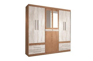 Six-Door Elena Wardrode for R4 199 Including Delivery (30% Off)