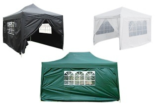 Hazlo Pop-Up Gazebo Tent with Sides for R1 999 Including Delivery (20% Off)