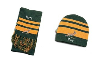 Personalised Springbok Supporters Apparel from R149 with The Gift Factory (Up to 28% Off)