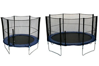 Trampoline and Safety Net Combos from R399 Including Delivery (Up to 39% Off)