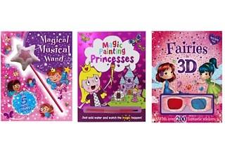 Set of Three Fairy Books Bundle for R299 Including Delivery (54% Off)