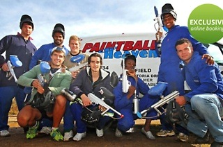 Paintball Games for up to Eight People from R279 at Paintball Heaven (Up to 57% Off)