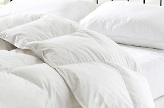 Duck Feather Duvets With 100% Down Proof and 233 TC Cotton from R549 Including Delivery (Up to 58% Off)