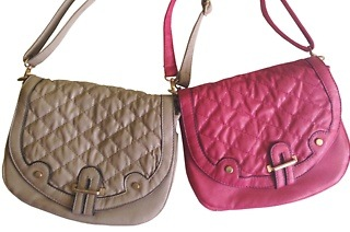 Ladies PU Quilted Crossbody Handbag for R259 Including Delivery (35% Off)