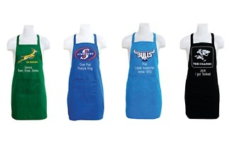Personalised Rugby Cooking Apron for R229 with The Gift Factory (18% Off)