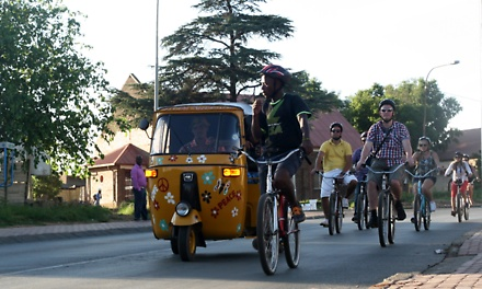 Soweto Bicycle and Tuk Tuk Tours from R299 with Soweto Bicycle Tours (Up to 67% Off)