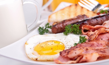 Any Breakfast Off The Menu at Quarterdeck International from R85 (Up to 54% Off)