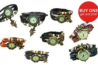 Two for One: Elemental Lifestyle Retro Watches for R179 Including Delivery (55% Off)