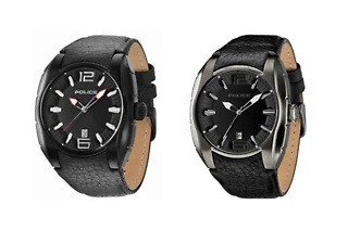 Police Men's Leather New Hampshire Watches for R1 099 Including Delivery (45% Off)