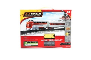 Kids Classic Train Set with Light and Sound for R189 Including Delivery (37% Off)