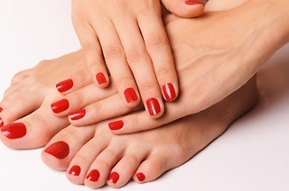 Manicure or Pedicure with Shellac from R140 at Annie M (Up to 75% Off)