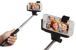 Emipix Selfie Stick with Built-In Shutter Release Button for R299 Including Delivery (40% Off)