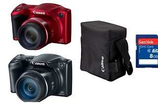 Canon Powershot SX400 IS Bundle for R1 699 Including Delivery (32% Off)