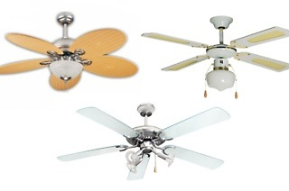 Choice of Gold Air Ceiling Fans from R599 Including Delivery (Up to 40% Off)