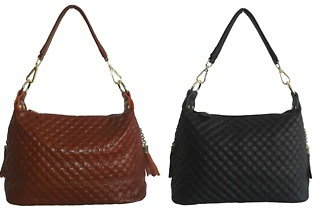Ladies Quilted Leather Handbag for R399 Including Delivery (23% Off)