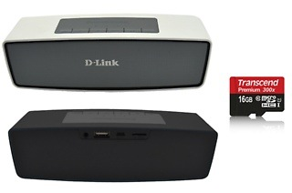 D-Link Bluetooth Speaker and Memory Card Bundle for R449 Including Delivery (50% Off)