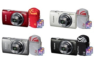 Canon IXUS 160 Digital Camera Value Bundle for R1 049 Including Delivery (25% Off)