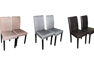 Dining Chair in Selected Fabrics and Colours from R699 Including Delivery (Up to 46% Off)
