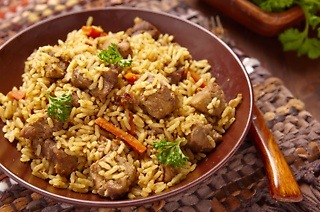 Take Away Breyani, Dhal and Salad with a Cooldrink from R65 at Raja Rani Indian Cuisine (Up to 52% Off)