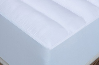 Anti-Allergy 500GSM Hollowfibre Mattress Toppers from R299 Including Delivery (Up to 70% Off)