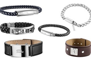 Assorted Men's Police Bracelets from R389 Including Delivery (Up to 33% Off)