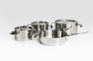 Carrol Boyes Seven-Piece 18/10 Stainless Steel Pot Set for R2 499 Including Delivery (31% Off)