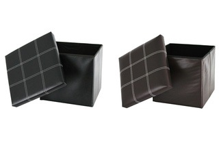 Fine Living Folding Storage Ottomans for R299 Including Delivery (63% Off)