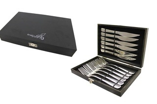 Fine Living 12-Piece Steak Knife and Fork Set from R229 Including Delivery (Up to 48% Off)