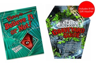 Ripley's and Graveyard Kids Book Bundle with a R100 Gift Voucher for R299 Including Delivery (58% Off)