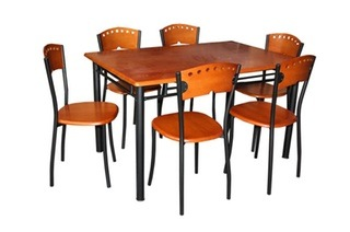 Polo Seven-Piece Rubber Wood Dining Set for R5 299 Including Delivery (24% Off)