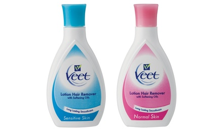 Three Bottles of 250ml Veet Hair Removal Lotion from R230 Including Delivery (Up to 30% Off)
