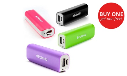 Two for One: Polaroid 2200 mAh USB Power Banks for R249 Including Delivery (50% Off)