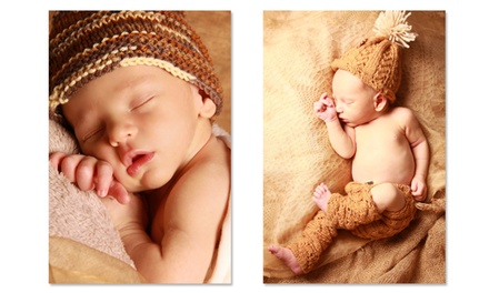 One-Hour Baby Photoshoot with Images on Disc from R399 with Optional Jumbo Prints at Giggles Photography SA