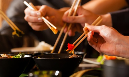 Asian Summer Platter with a Cocktail for Two from R159 at Watami Restaurant (Up to 60% Off)