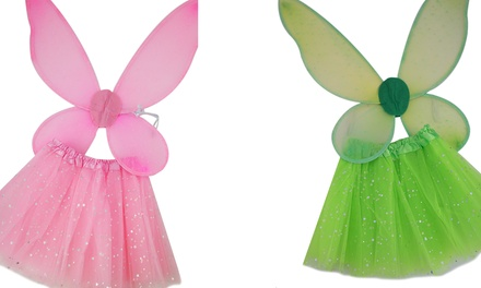 Girls Star Tutu and Wings Set for R199 Including Delivery (33% Off)