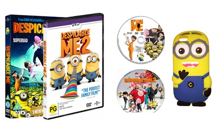 Minions iPhone 6 Case and DVD Set Combo for R439 Including Delivery (43% Off)
