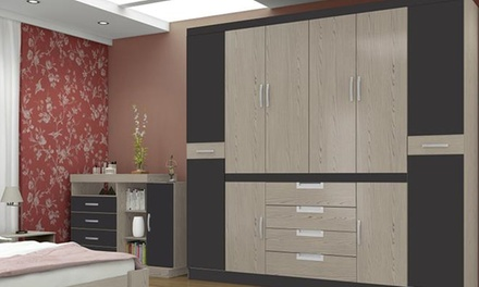 Valeria Eight-Door Wardrobe for R5 999 Including Delivery (33% Off)