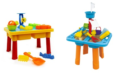 Kids Sand Table with Cover or Flag for R279 Including Delivery (30% Off)