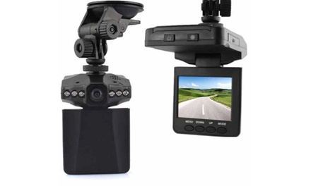 2.5 HD Car Dashboard Camera IR DVR Cam with Night Vision Recorder for R399 Including Delivery (50% Off)