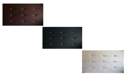 PU Leather Headboard from R799 Including Delivery (Up to 40% Off)