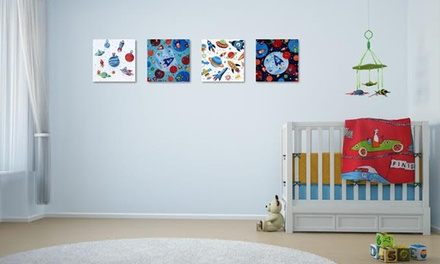 Personalised Canvas Prints for Kids from R49 with Printstagram (Up to 67% Off)