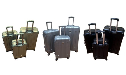 Three-Piece Travel Trolley ABS Luggage Set for R1 499 Including Delivery (50% Off)