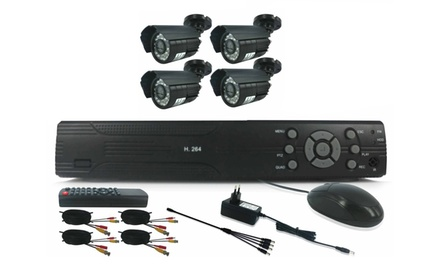 HDMI DIY CCTV Kit with Internet and 3G Phone Viewing from R1 499 Including Delivery (Up to 50% Off)