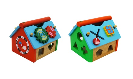 Wooden Clock House for R199 Including Delivery (29% Off)