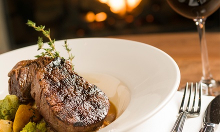 200g Sirloin Steak with a Glass of Wine from R159 for Two at Lemon Groove Carlsworld (Up to 53% Off)