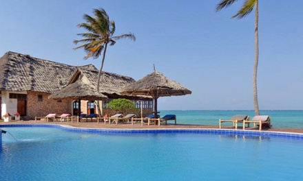 ✈Zanzibar: Seven-Night All Inclusive Stay Per Person Sharing Including Flights at Reef and Beach Resort