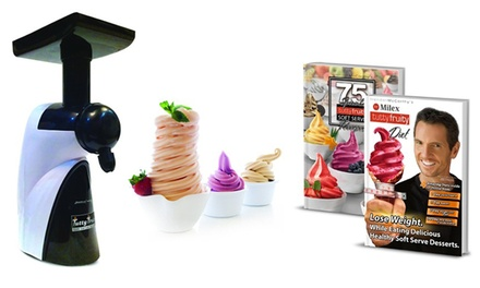 Tutty Fruity Soft Serve machine - The 1Natural Ice Cream